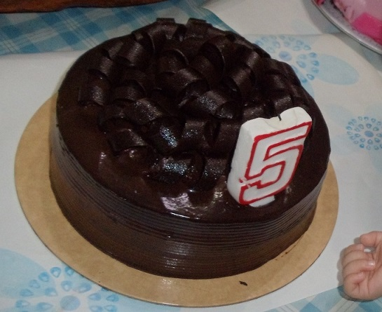 5-Grandma's chocolate cake from Purple Oven