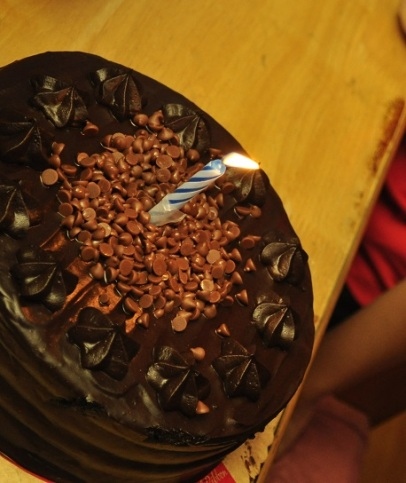 8-Chocolate Overload Cake from Red Ribbon