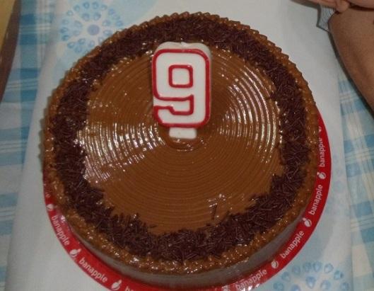 9-Super Caramel Fudge Cake from Banapple