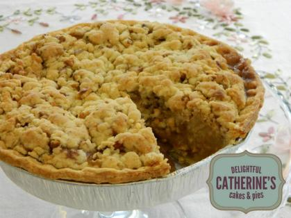 catherine's french-style applie pie