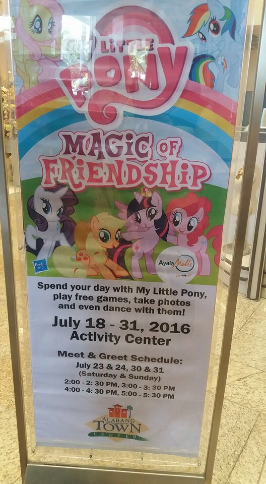 The my little pony magic of friendship exhibit at alabang town alabang town center has events or exhibits lined up in its activity center most weekends and when a cousin told me about the my little pony exhibit stopboris Images