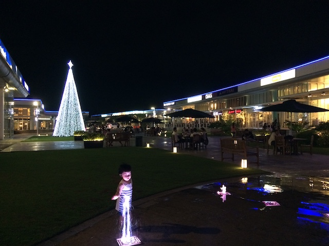 Christmastime at Molito Complex, Alabang