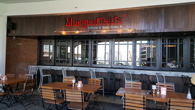 Ribs and Chops at Morganfield's in Uptown Place Mall,BGC