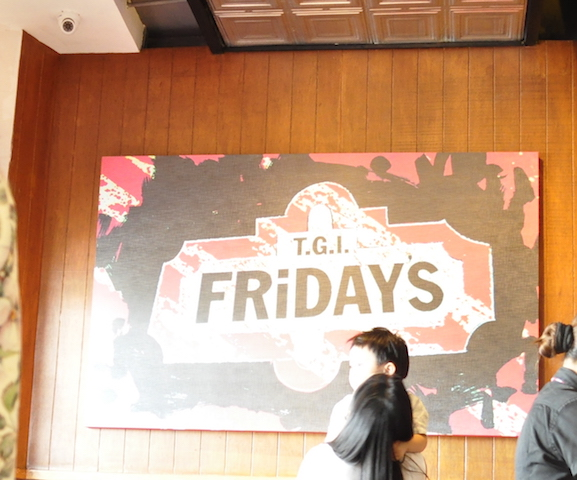 A TGIFriday's Evia Party: The Ball's 3rd Birthday